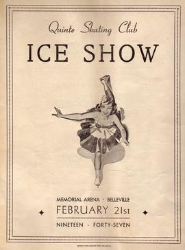 Quinte Skating Club Ice Show program