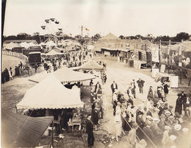 Photographs of Belleville Exhibition grounds and Stephens Adamson events