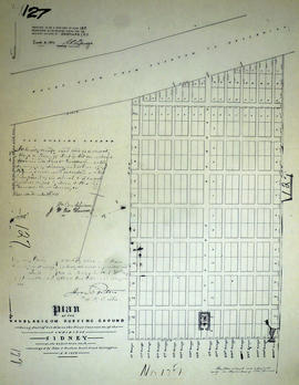 Plan of VanBlaricom Burying Ground in the Township of Sidney