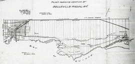 Reproduced plan of Belleville Radial Railway