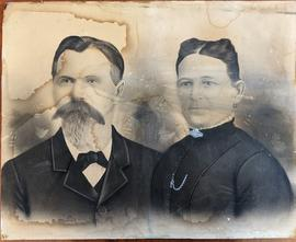 Portrait of James and Melissa Dryden
