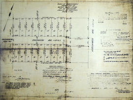Subdivision of Part Lot 12 in the Township of Thurlow