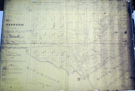 Map of Town Plot at mouth of Trent River