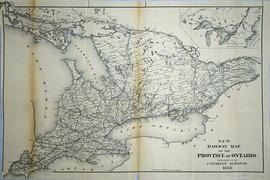 New Railway Map of the Province of Ontario