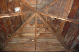 Digital photographs of Anglican Rectory roofspace, Deseronto