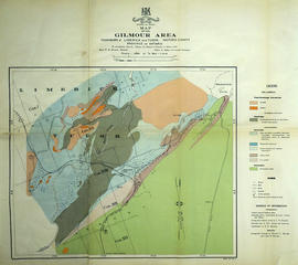 Mineral Map of the Gilmour Area