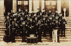 Postcard of 15th Regiment Argyll Light Infantry Band