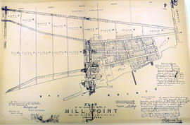 Plan of the incorporated village of Mill Point