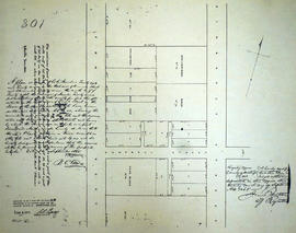 Plan of Lots 26-29 in the town of Belleville