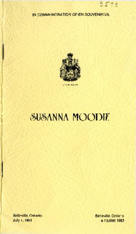 Susanna Moodie House Plaque Unveiling Ceremony