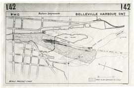 Map of Dredging in Belleville Harbour