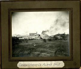 Photograph of Canada Cement Company Plant No. 5