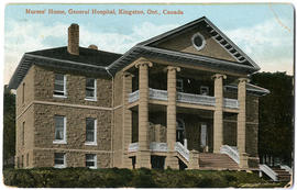 Nurses' House, General Hospital, Kingston, Ont, Canada (front)